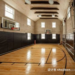 篮球场木地板效果图集大全