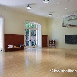 篮球场木地板效果图欣赏
