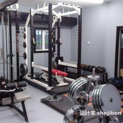 健身房器械效果图集