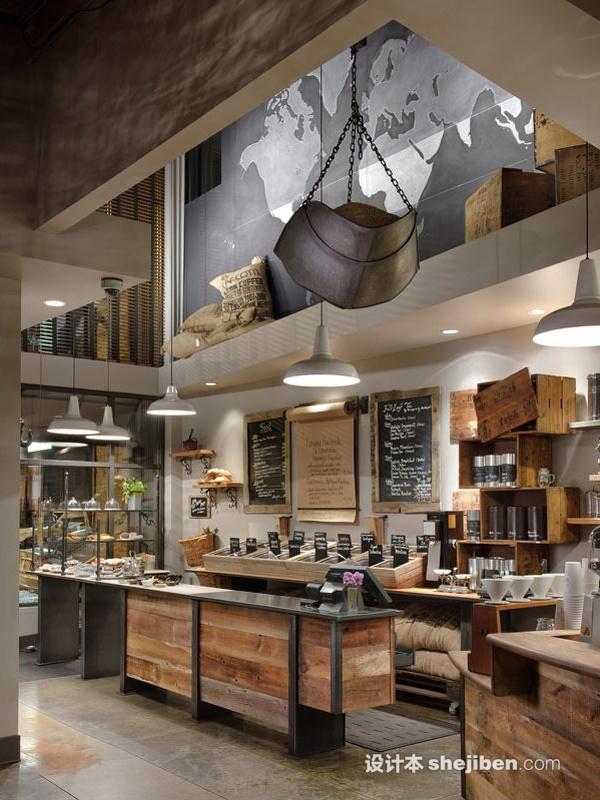 简欧风格装修图片_好看咖啡馆图片效果图大全 – 设计本装修效果图