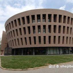 清华大学图书馆效果图图集