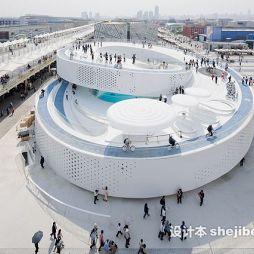 上海世博展览馆效果图集欣赏