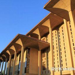 斯坦福大学图书馆效果图片