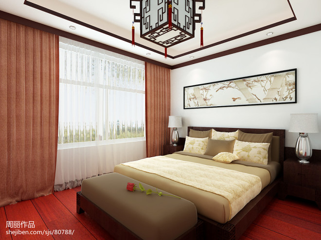 中式家庭装修效果图欣赏