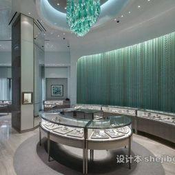 珠宝展柜设计图欣赏大全