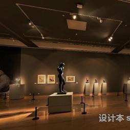 中国美术馆效果图库