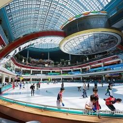 溜冰场效果图图片