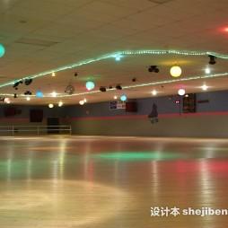 溜冰场效果图大全