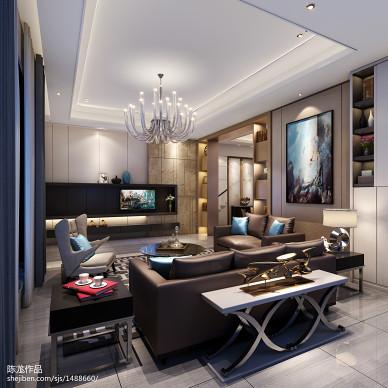 起居室设计效果图展示