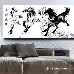 中国油画效果图片