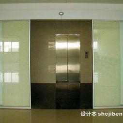 玻璃感应门效果图图片