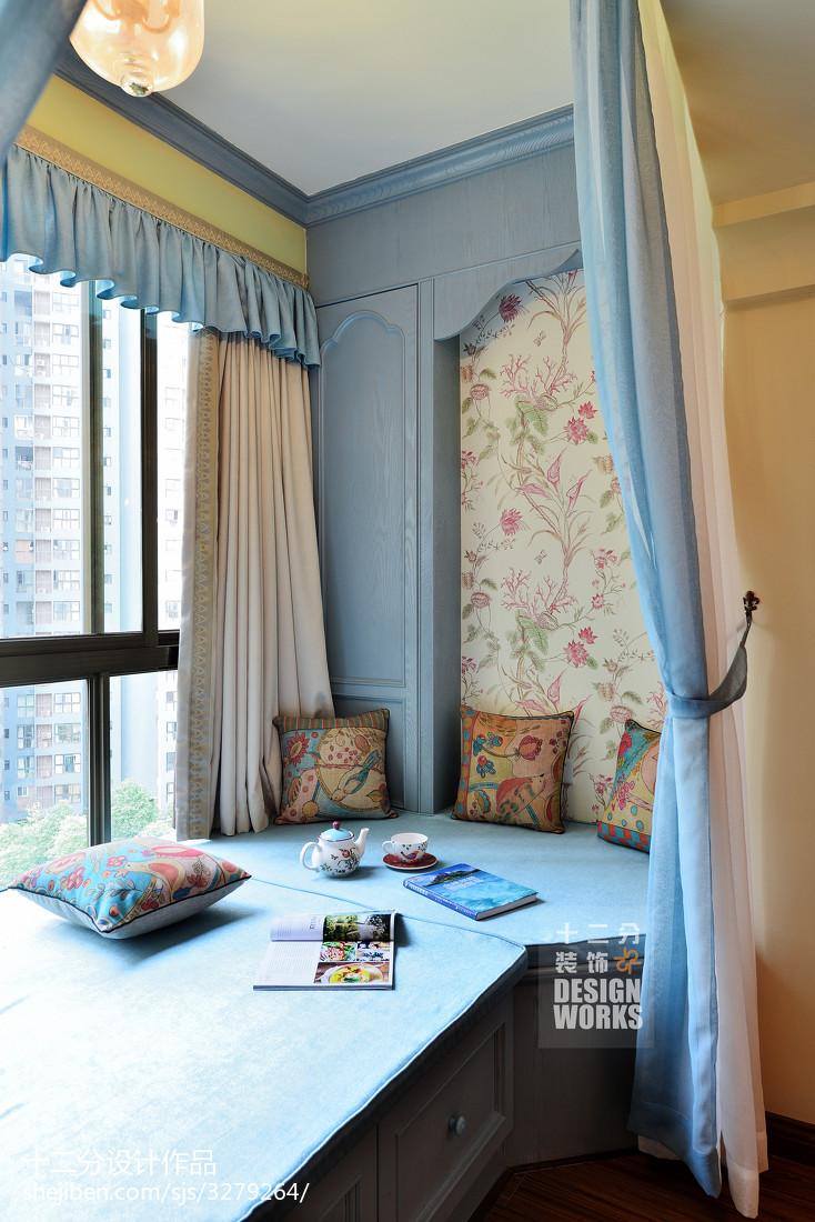 生活资讯_田园风格卧室飘窗装修图片 – 设计本装修效果图