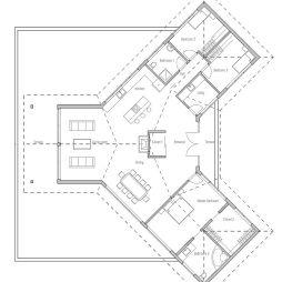 农村平房房屋设计图效果图欣赏