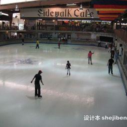 室内溜冰场设计效果图集欣赏