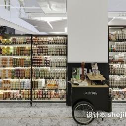 精品超市货架效果图集