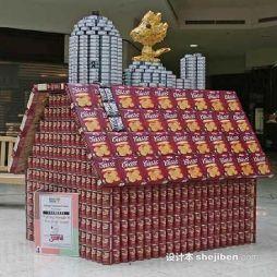 超市创意陈列效果图集