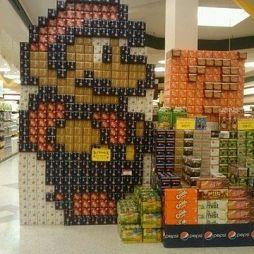 超市创意陈列效果图图集