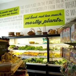 超市展示柜效果图片