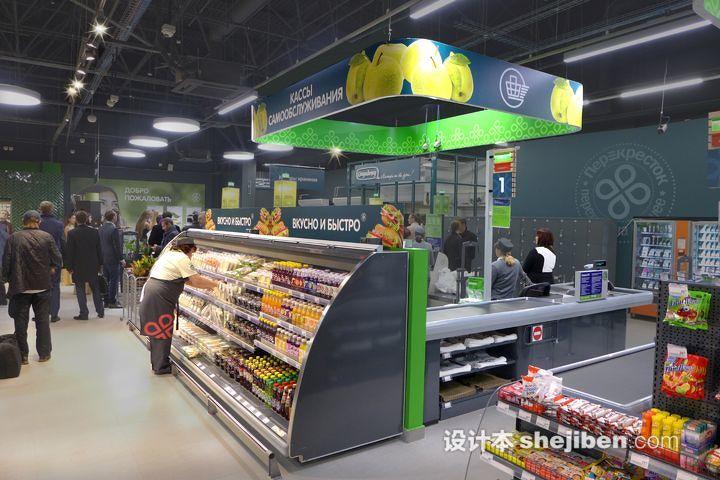精品柜装修效果图_小型超市设计图片_精品超市装修设计_设计本专题