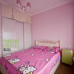 田园风格儿童卧室装修设计效果图