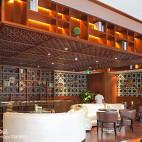 中式咖啡厅设计效果图