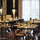 泰国餐馆装修效果图片