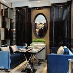 混搭风格餐厅隔间效果图