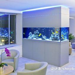 鱼缸造景效果图欣赏