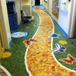 塑胶地板效果图图库
