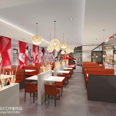 英伦风大变身 - 上海浦东悠伴咖啡厅改造