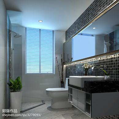 现代卫浴装修效果图大全2017图片