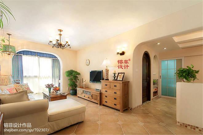 混搭风格客厅空间设计效果图