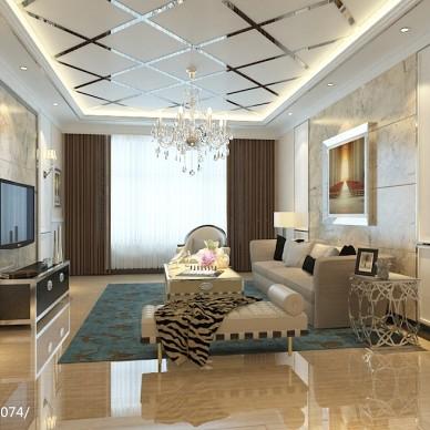 现代风格电视墙装修效果图大全欣赏