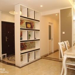 欧式家装客厅玄关效果图图片