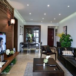 三居室现代客厅装修效果图