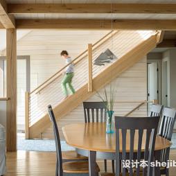 别墅楼梯组合装饰图片