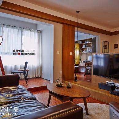 混搭风格客厅电视柜设计效果图