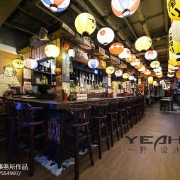 日式餐厅走道装修图片