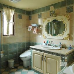 别墅混搭卫生间装修设计