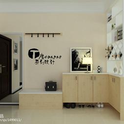 客厅鞋柜装修效果图图片