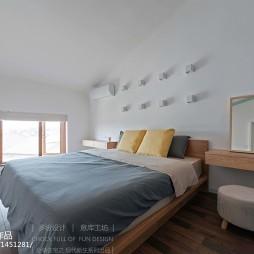 复式楼现代简约卧室设计