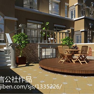 长春-中海国际社区 庭院