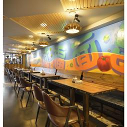 混搭风格中餐厅吊顶装修图片