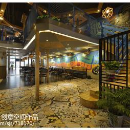 混搭風格中餐廳空間設計