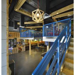 混搭风格中餐厅二楼装修效果图