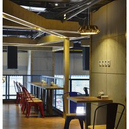 混搭风格中餐厅吊顶装修设计