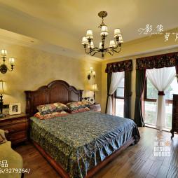 复式房美式卧室装修设计