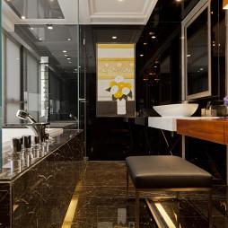 混搭风格卫生间装修样板间设计