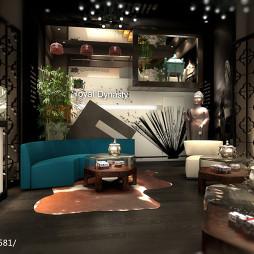 澳門品牌店展銷廳設計_1779781
