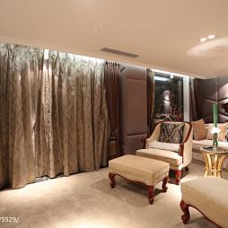 别墅混搭风格视听室装修设计
